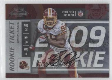 2009 Playoff Contenders - [Base] #150 - Brian Orakpo /199