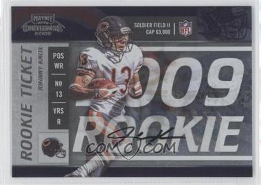 2009 Playoff Contenders - [Base] #175 - Johnny Knox