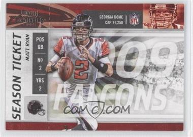 2009 Playoff Contenders - [Base] #4 - Matt Ryan