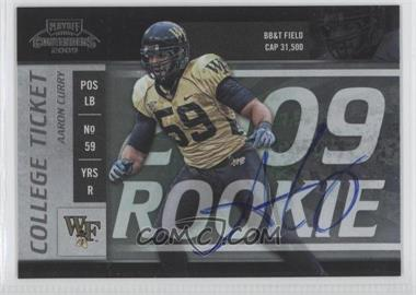 2009 Playoff Contenders College Rookie Ticket #22 - Aaron Curry /64