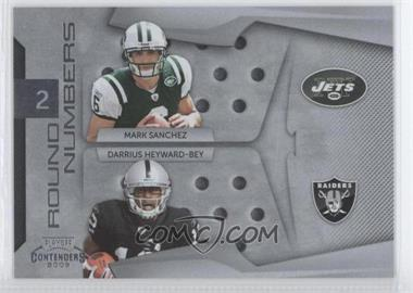 2009 Playoff Contenders Round Numbers #3 - Darrius Heyward-Bey, Mark Sanchez