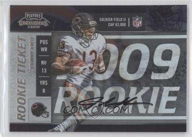2009 Playoff Contenders #175 - Johnny Knox