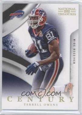 2009 Playoff National Treasures - [Base] - Century Gold #13 - Terrell Owens /5