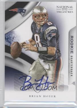 2009 Playoff National Treasures - [Base] #145 - Brian Hoyer /99