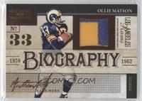 Ollie Matson /25
