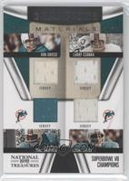 Paul Warfield, Bob Griese, Larry Csonka, Larry Little /50