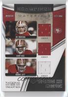 Jerry Rice, Joe Montana, Ronnie Lott /99