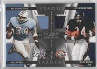 Earl Campbell, Walter Payton /99