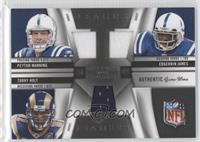 Edgerrin James, Peyton Manning, Torry Holt /99