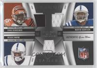 Chad Ocho Cinco, Marvin Harrison, Reggie Wayne /70