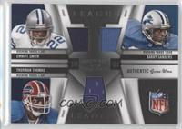 Barry Sanders, Emmitt Smith, Thurman Thomas /99
