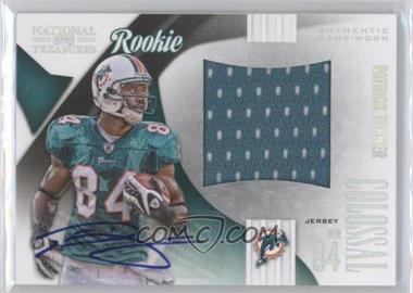 2009 Playoff National Treasures Rookie Colossal Materials Signatures [Autographed] #29 - Patrick Turner /50