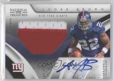 2009 Playoff National Treasures #102 - Andre Brown /99