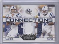 Peyton Manning, Reggie Wayne /25