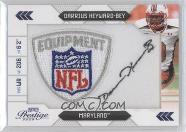 2009 Playoff Prestige NFL Draft Class NFL Equipmentd Logo Patch Signatures [Autographed] #6 - Darrius Heyward-Bey /25