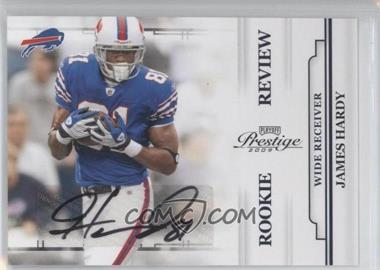 2009 Playoff Prestige Rookie Review Signatures #25 - James Hardy /250