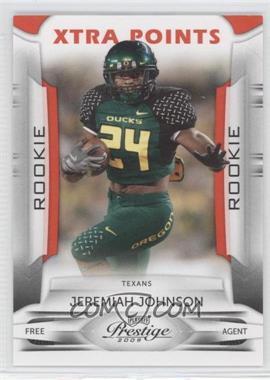 2009 Playoff Prestige Xtra Points Red #153 - Jeremiah Johnson /100