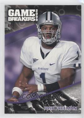 2009 Press Pass - Game Breakers #GB 10 - Josh Freeman