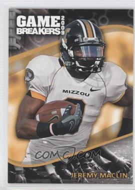 2009 Press Pass - Game Breakers #GB 11 - Jeremy Maclin