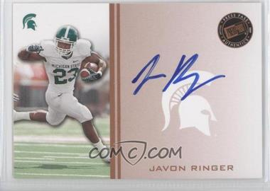 2009 Press Pass - Signings - Bronze #PPS - JR - Javon Ringer