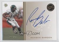 Ramses Barden /99