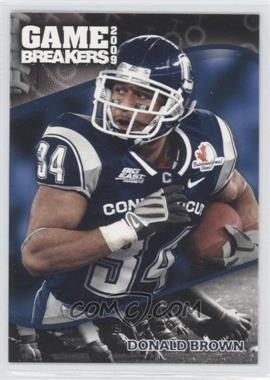 2009 Press Pass [???] #GB14 - Donald Brown