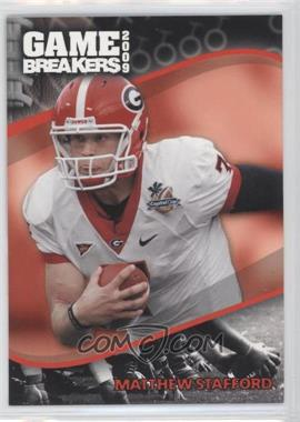 2009 Press Pass Game Breakers #GB 1 - Matthew Stafford