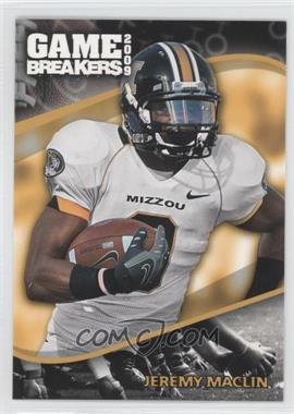 2009 Press Pass Game Breakers #GB 11 - Jeremy Maclin