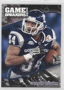 2009 Press Pass Game Breakers #GB 14 - Donald Brown