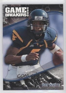 2009 Press Pass Game Breakers #GB 20 - Pat White