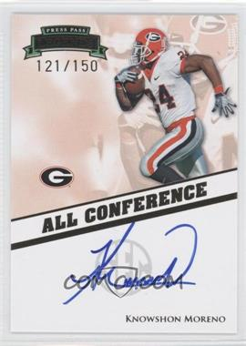 2009 Press Pass Legends - All Conference Autographs #AC-KM - Knowshon Moreno /150