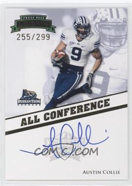 2009 Press Pass Legends [???] #AC-AC - Austin Collie /299