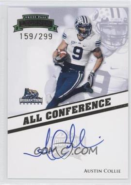 2009 Press Pass Legends All Conference Autographs #AC-AC - Austin Collie /299