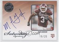 Mike Goodson /25