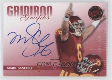 2009 Press Pass Signature Edition - Gridiron Graphs - Red #GG-2 - Mark Sanchez /120