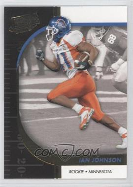 2009 Press Pass Signature Edition [???] Gold #44 - Ian Johnson