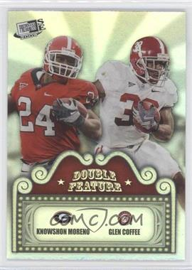 2009 Press Pass Signature Edition [???] #DF-4 - Knowshon Moreno, Glen Coffee
