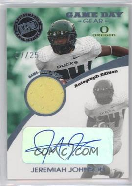 2009 Press Pass Signature Edition [???] #GDG-JJ - Jeremiah Johnson /25