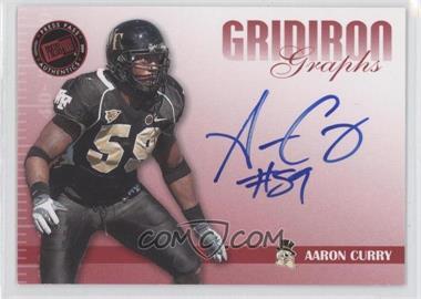 2009 Press Pass Signature Edition [???] #GG-AC - Aaron Curry /150