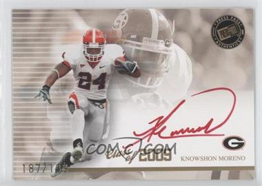 2009 Press Pass Signature Edition Class of 2009 Autographs Red Ink #CL-KM - Knowshon Moreno /199