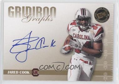 2009 Press Pass Signature Edition Gridiron Graphs Gold #GG-JC - Jared Cook