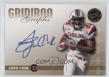 2009 Press Pass Signature Edition Gridiron Graphs Gold #GG-JC - Jared Cook