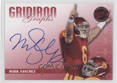 2009 Press Pass Signature Edition Gridiron Graphs Red #GG-2 - Mark Sanchez /120