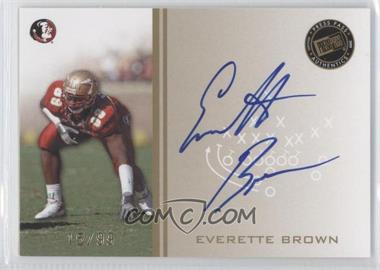 2009 Press Pass Signings Gold #PPS-EB - Everette Brown /99