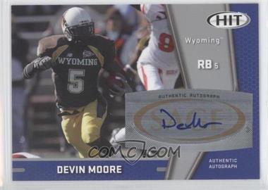 2009 SAGE Hit - Autographs - Silver #A50 - Devin Moore