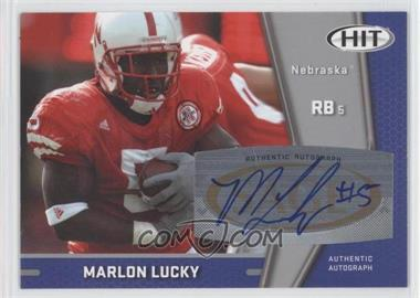 2009 SAGE Hit [???] #A35 - Marlon Lucky