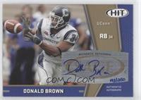 Donald Brown /250