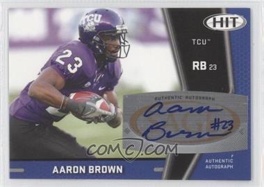 2009 SAGE Hit Autographs #A62 - Aaron Brown