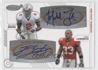 Malcolm Jenkins, James Laurinaitis