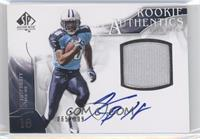 Rookie Authentics Auto Patch - Kenny Britt /999